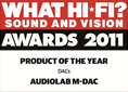 WHAT HIFI AWARDS 2011