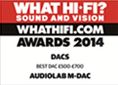 WHAT HIFI AWARDS 2014